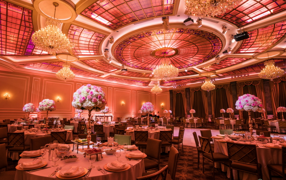 Wedding Venue In Los Angeles - Taglyan Complex Pink Ballroom