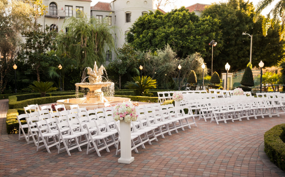 Event Space In Los Angeles - Taglyan Complex Garden Wedding
