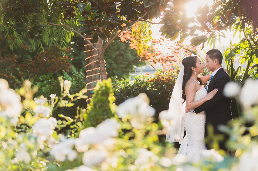 Wedding Venue In Los Angeles - Taglyan Gardens in Daytime