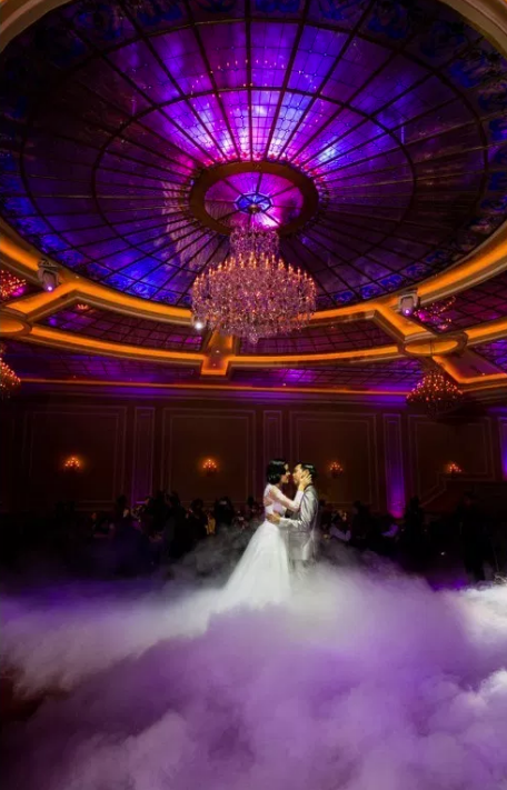 Wedding Venue In Los Angeles - Taglyan Complex Ballroom with Couple Dancing
