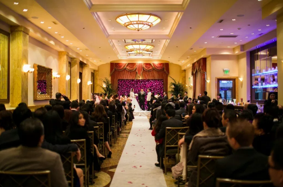 Wedding Venue In Los Angeles - Taglyan Complex Wedding Ceremony in Foyer