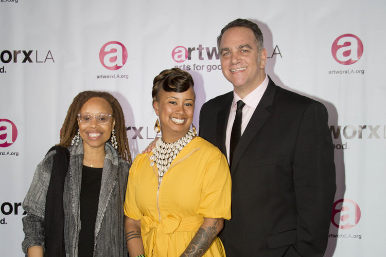 ArtworxLA - 27th Annual Evening Of Art - Kristin Sakoda Shelby Williams Gonzalez And Michael Sugar