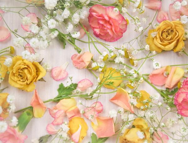 Wedding Flowers - Bright Spring Flowers