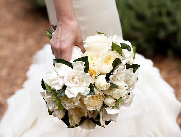 Wedding Flowers - Gardenia Bouquet
