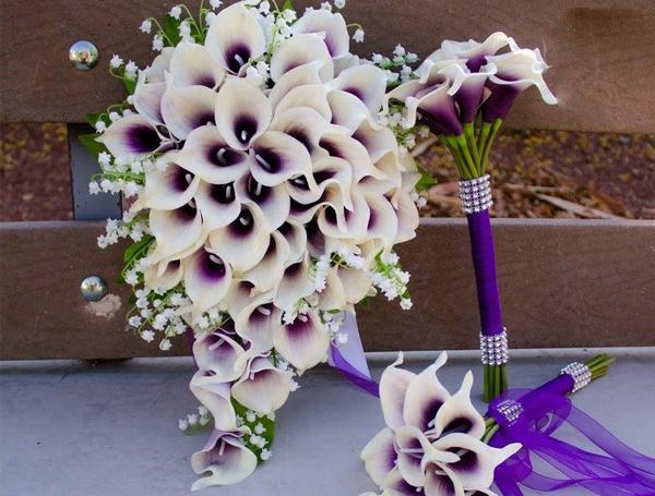 Wedding Flowers - Calla Lily Bouquet