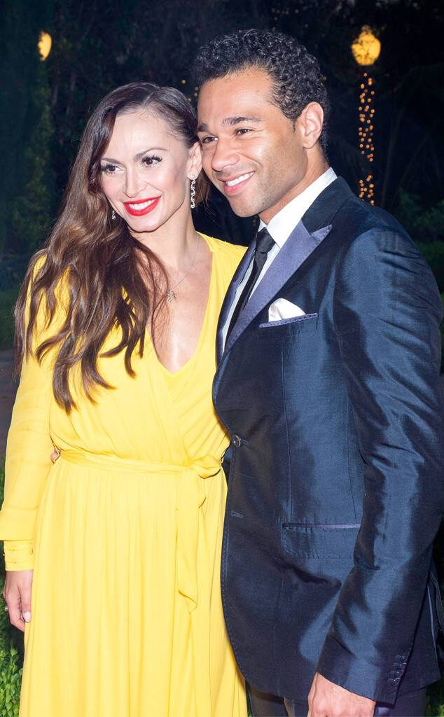 Dance Vision Awards Gala - Karina Smirnoff And Corbin Bleu
