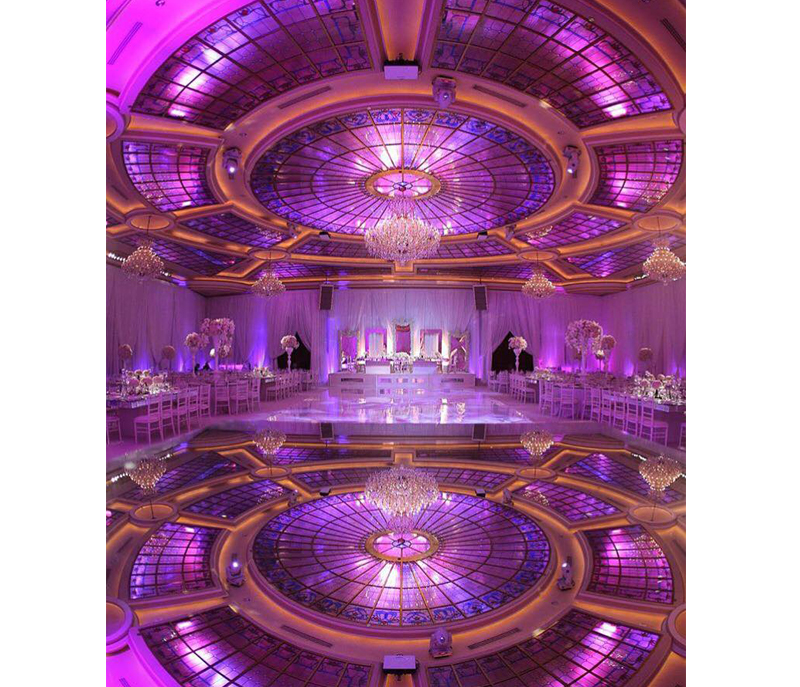 Wedding Color Palette - Purple Ballroom At Taglyan