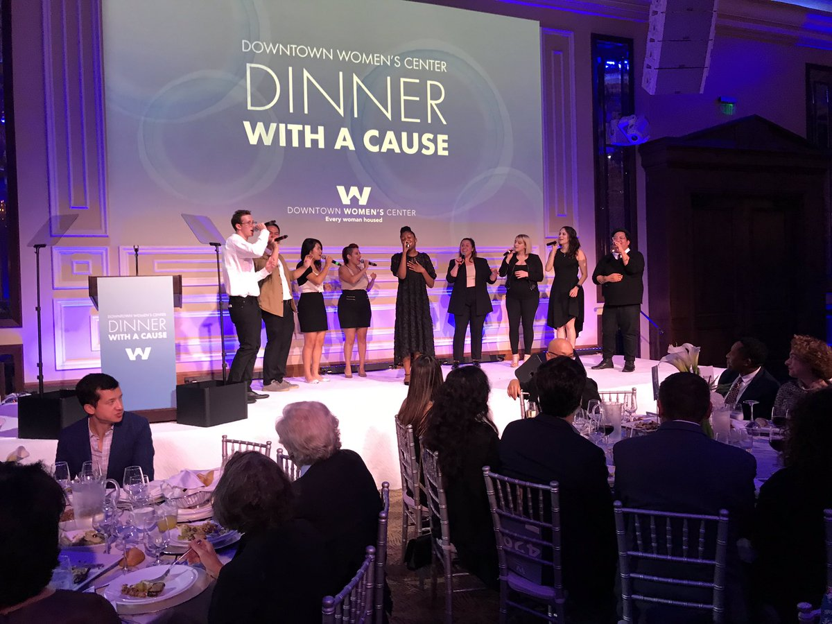 Dinner With A Cause At Taglyan - Live Music