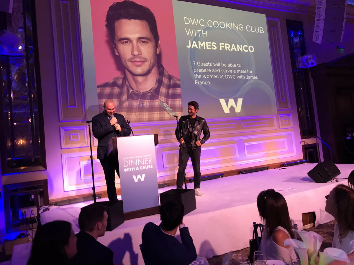 Dinner With A Cause At Taglyan - James Franco