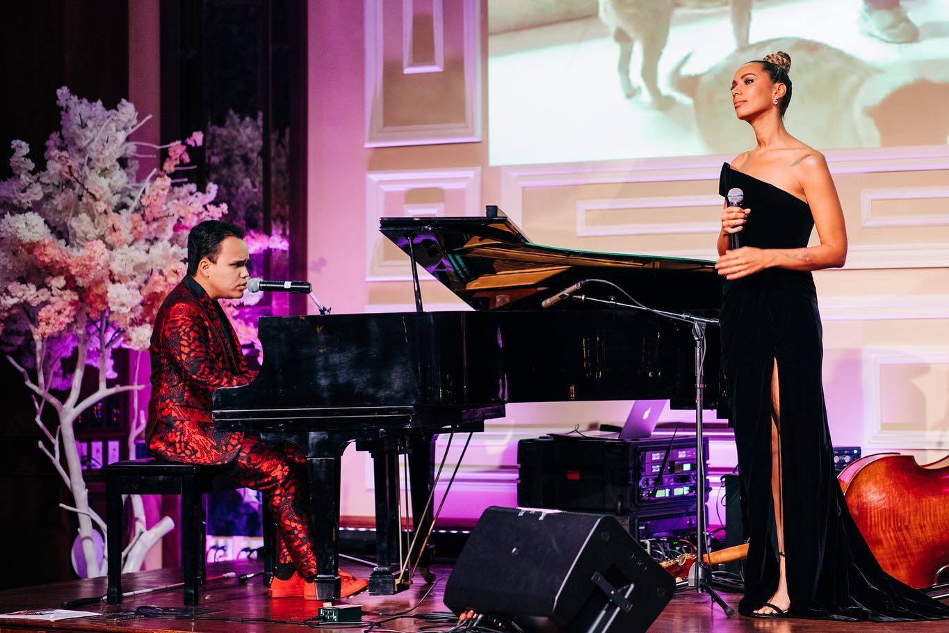 4th Annual Vanderpump Dog Foundation Gala - Leona Lewis And Kodie Lee